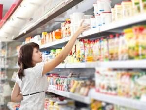 Glutenfreie Produkte gibt es in vielen Supermärkten.